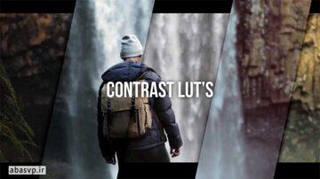 دانلود مجموعه LUT اصلاح رنگ فیلم Contrast Luts