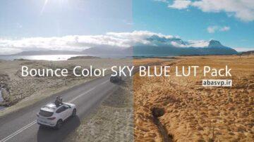 دانلود LUT افکت رنگی فیلم Bounce Color SKY BLUE LUT