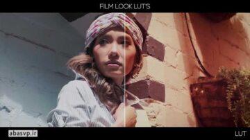 دانلود LUT حرفه ای فیلم Film Look luts Footages