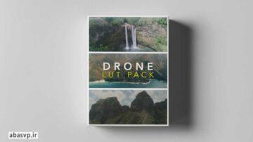 دانلود پریست رنگی فیلم هوای LUT هلی شات DRONE LUTS