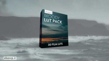 دانلود 30 LUT پریست اصلاح رنگی فیلم Moody LUT Pack 30 Creative Film