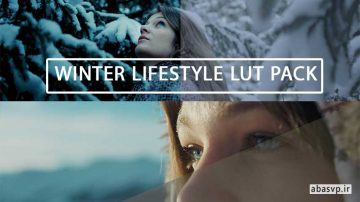 دانلود پریست رنگی LUT فیلم Winter Lifestyle LUT Pack