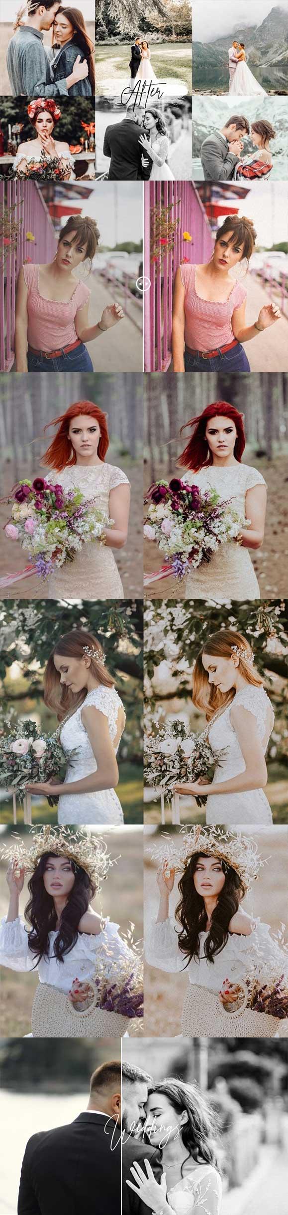 پریست عکاسی عروسی Wedding Lightroom Presets