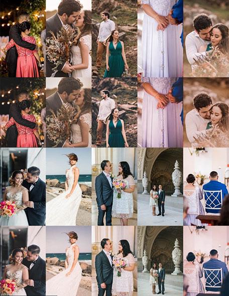 دانلود پریست ودینگ Film Wedding presets