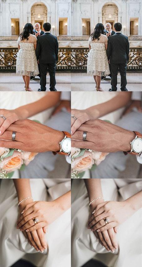 دانلود پریست رنگی عروسی wedding lightroom
