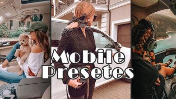 پک پریست رنگی موبایل Mobile Presets