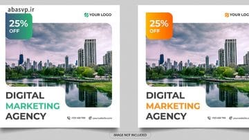 لایه باز دیجیتال مارکتینگ digital marketing social media post