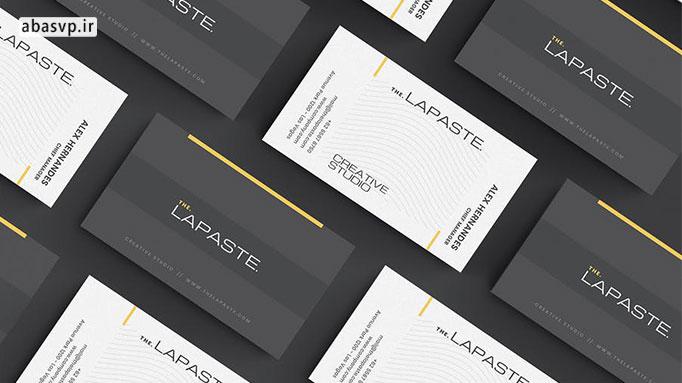 لایه باز کارت ویزیت Business Card