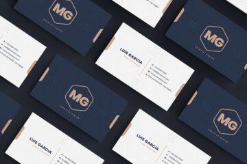 لایه باز کارت ویزیت زیبا Business Card