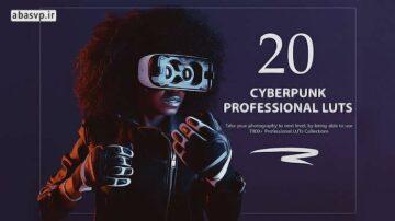 دانلود 7000 پریست رنگی مخصوص فیلم 20 cyberpunk Lut