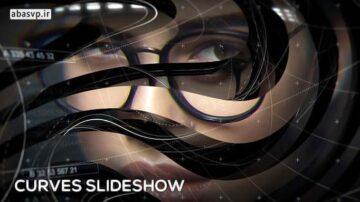 دانلود اسلاید شو پارالاکس Curves Slideshow