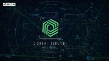 دانلود لوگو ارز های دیجیتال افترافکت digital tunnel logo