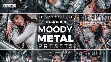 دانلود پریست لایتروم موبایل و دسکتاپ moody metal presets
