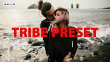 دانلود پریست کمرا روا فتوشاپ Tribe preset